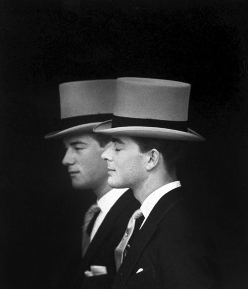 top hat: Lord Oxmantown, Loomis Dean, Dean O'Gorman, Brother, Princess Margaret, Photo