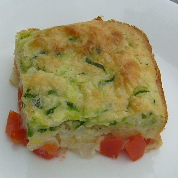 Impossible Zucchini Pie