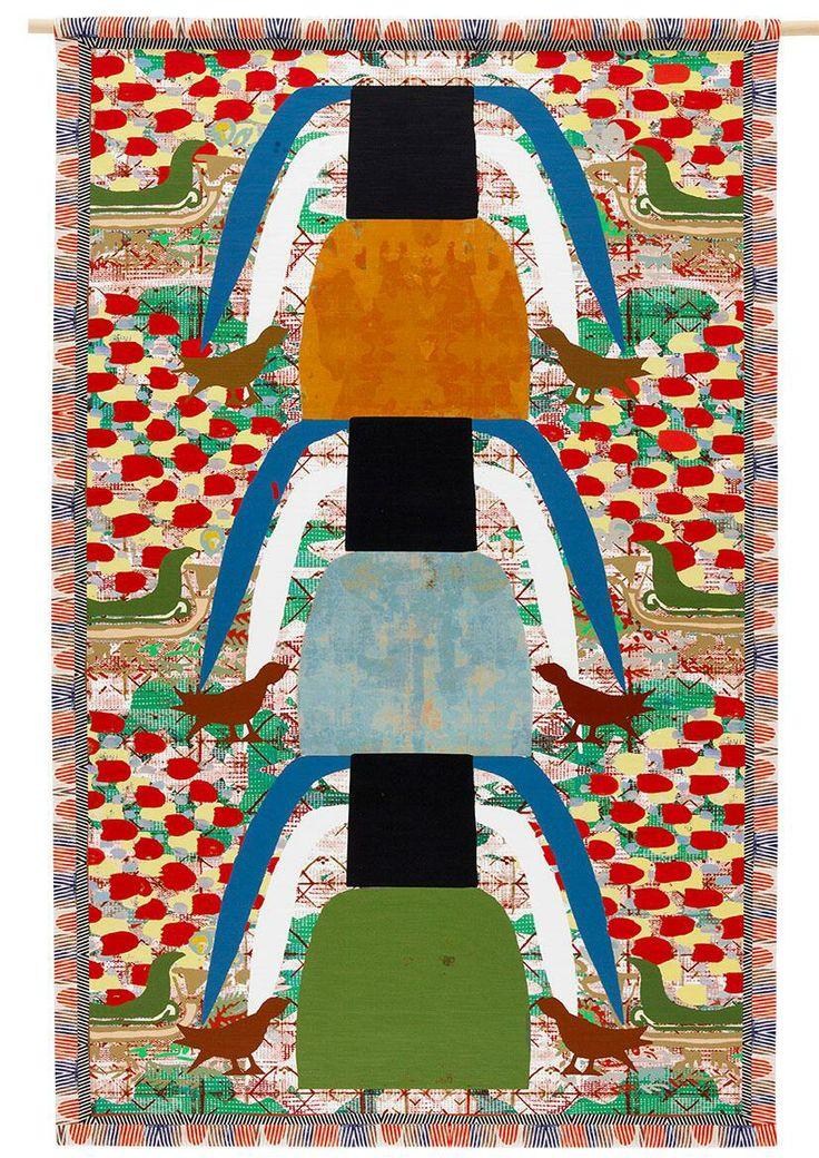 EN KOBENHAGEN/UN COPENHAGUE by Maj Persdatter.  The oriental carpet revisited.  Now in espacioBRUT