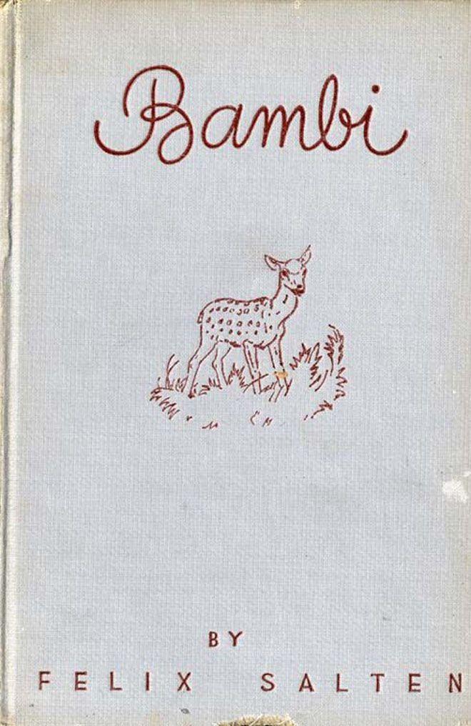 VINTAGE BAMBI BOOK