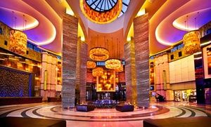 Groupon - Stay with Dining Credit at Foxwoods Resort Casino in Mashantucket, CT. Dates into December. in Mashantucket, CT. Groupon deal price: $74