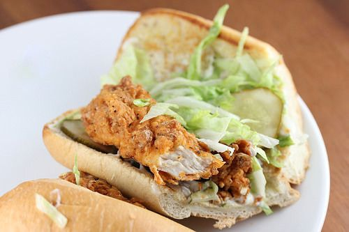 Popeyes Fried Chicken Po' Boy Copycat Recipe