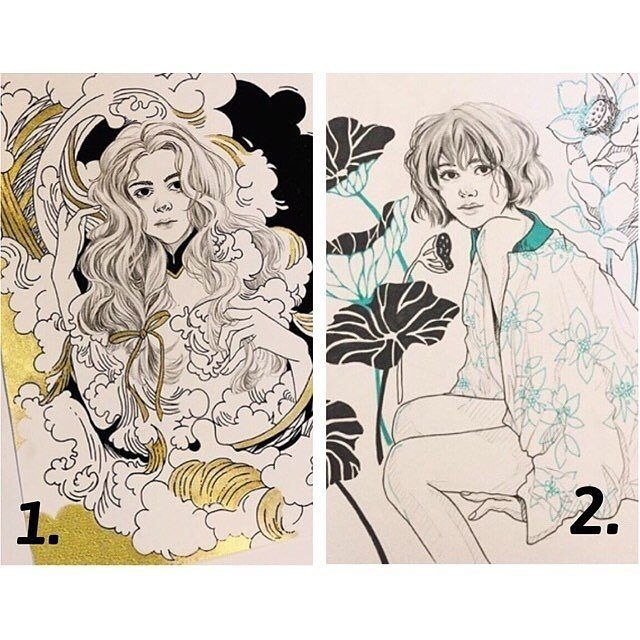 Reposting @sharingg.art: 1 or 2?  Art by @c.fantasy_ #sharingart#art#artistic#arts_help#art_help#pen#pretty#young_artists_help#blvart#nawden#illustratenow#art4small#ladyterezie#art_4share#mcyarts#l4l#f4f#realism#portrait#drawing#art##pen#creative#f4fart#fanart#graphite#sketch