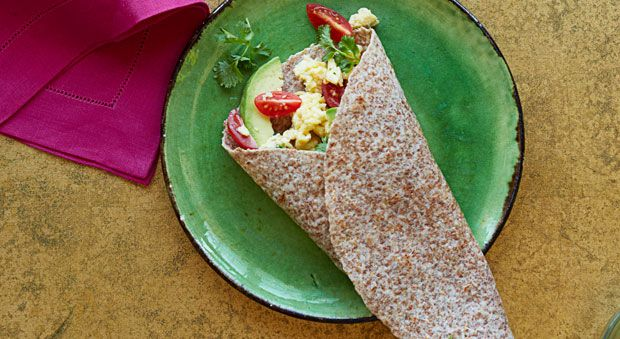 South of the Border Breakfast Wrap - GoodHousekeeping.com 300 calories/serving