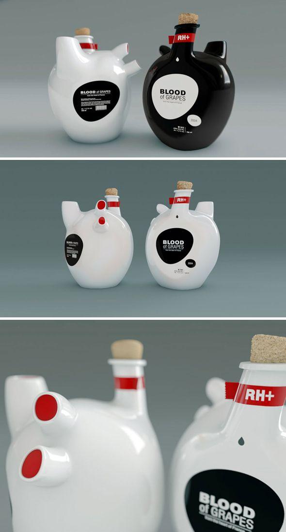 une bouteille de vin qui a du coeur design pinterest. Black Bedroom Furniture Sets. Home Design Ideas
