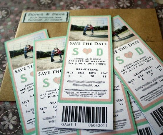 17 Best images about Ticket Design – Invitations That Look Like Concert Tickets