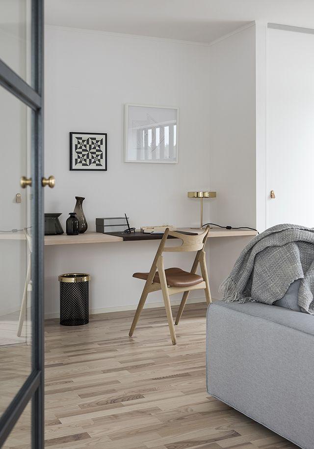 ¿Cómo integrar una zona de trabajo en un dormitorio o un salón? - Nordic Treats