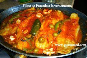Hoy les traigo mi versión de Pescado a la Veracruzana, a mi me gusta hacerlo con filetes para no batallar con las espinas. Mu...