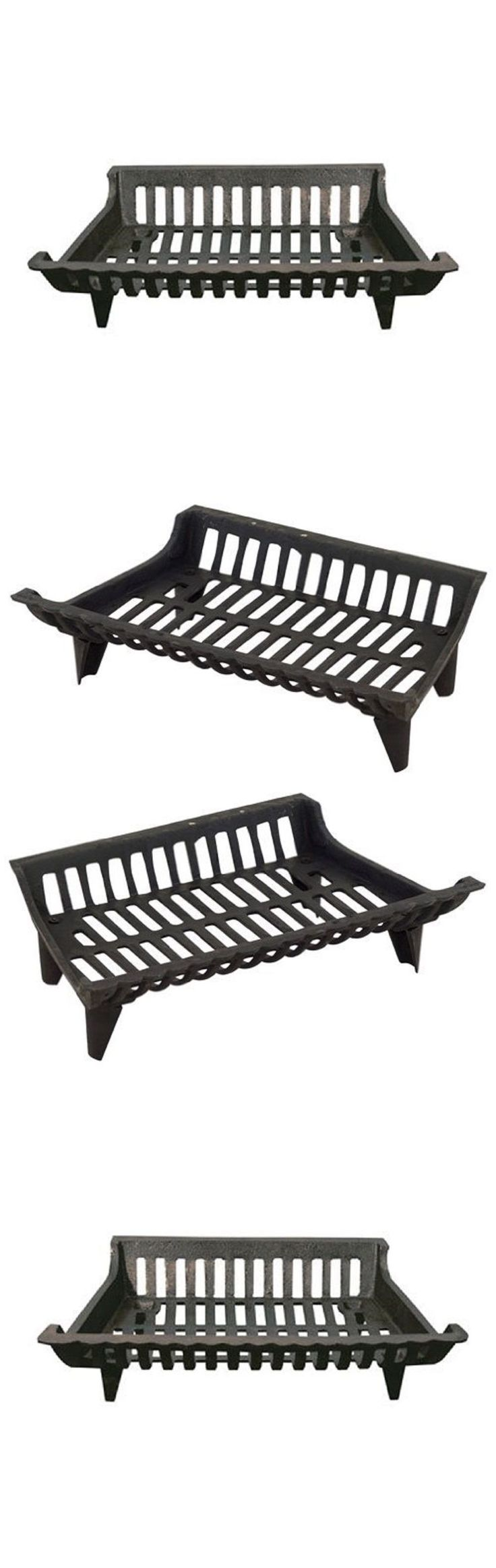 wood grates diy black steel fireplace grate wrought iron with