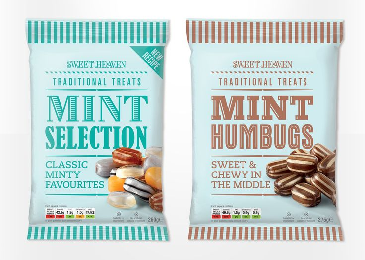 Sweet Heaven Confectionary #packaging by Asylum, UK