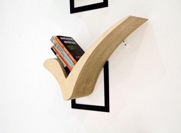 Creative shelf for the books. #shelf,#creative