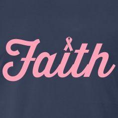 Faith. Pink Ribbon T-Shirts                                                                                                                                                                                 More