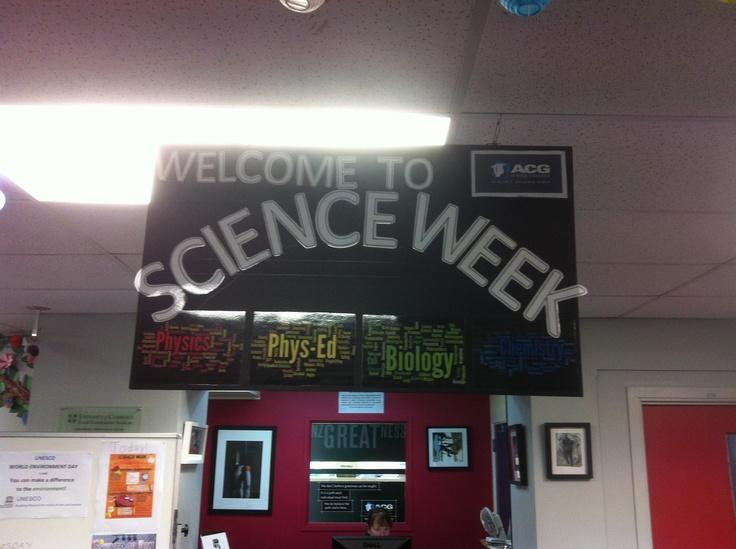 Science Week at ACG Senior College