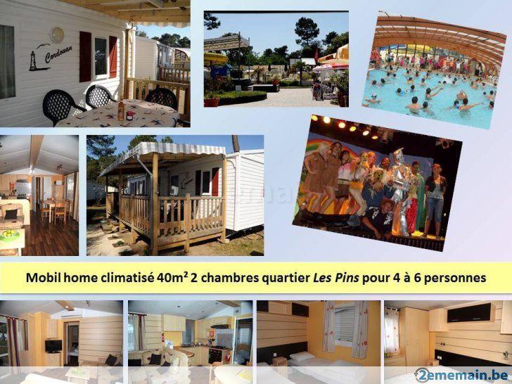 Mobil homes 2 ou 3 chambres Siblu La Pignade****