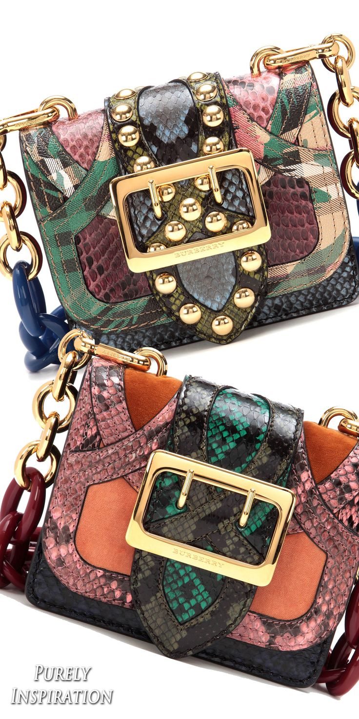 Burberry FW2016 Collection | Purely Inspiration Women's Handbags Wallets - http://amzn.to/2huZdIM