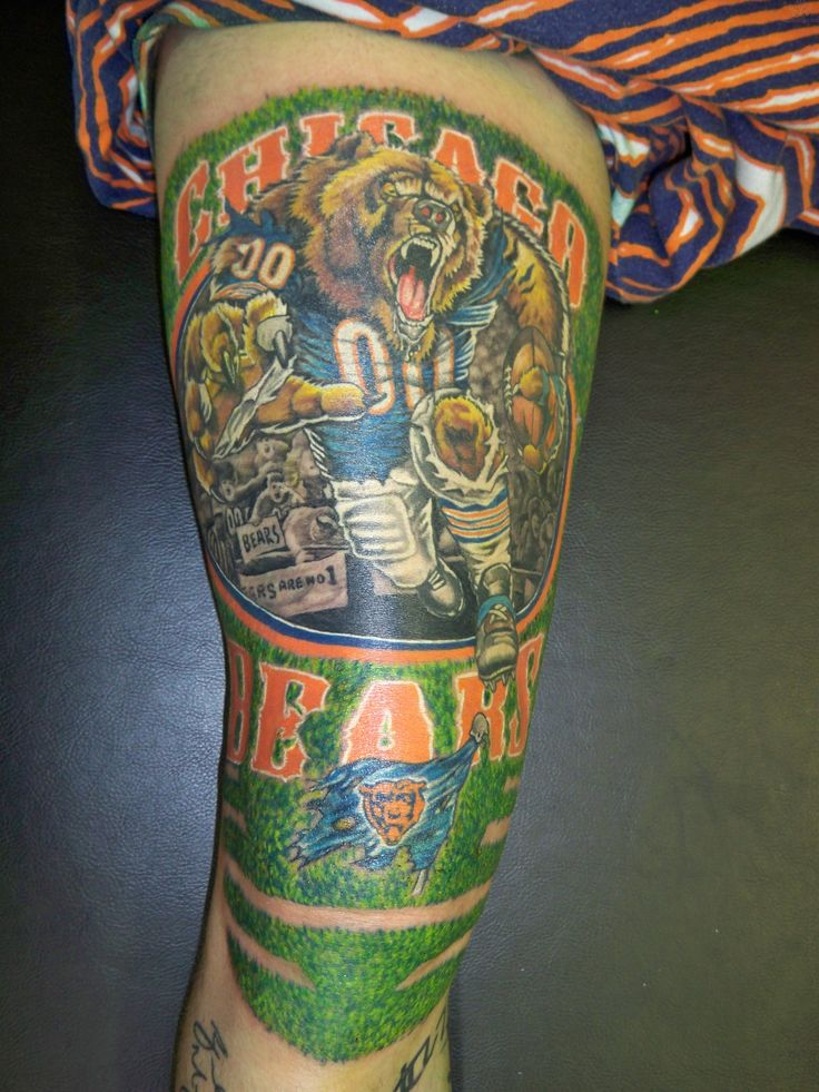 Chicago Bears Tattoos : Page 4