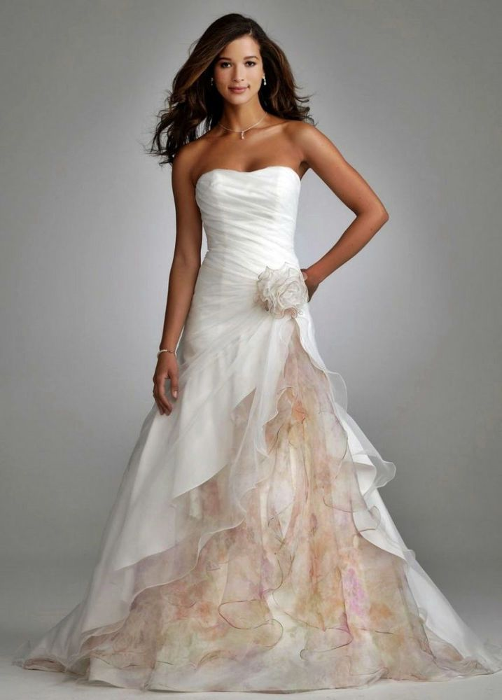47 best David\'s Bridal dresses images on Pinterest | Wedding frocks ...