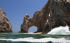Cabo San Lucas, Mexico.  Deep sea fishing is amazing.