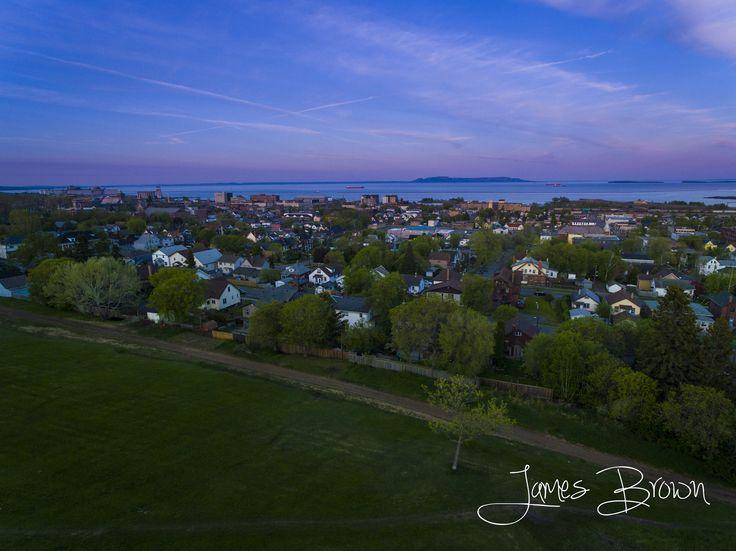 https://flic.kr/p/ugLb4m | Sleeping Giant Evening | Taken from above Hillcrest Park in Thunder Bay