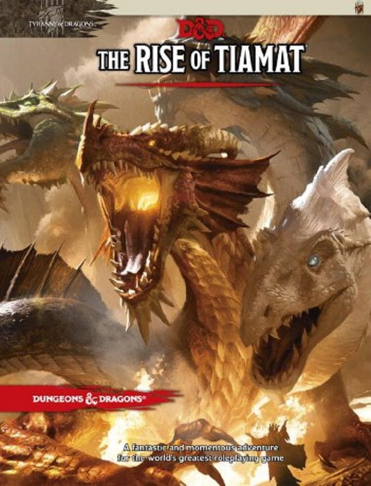 11 best dd 5e images on pinterest drama games forgotten realms dungeons dragons the rise of tiamat adventure fandeluxe Gallery