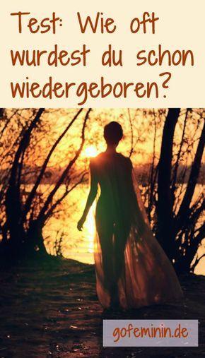 Möchtest du wissen, wie viele Leben du schon hinter dir hast? Dann mach den Test: http://www.gofeminin.de/beliebt-im-netz/test-wiedergeburt-s1463353.html #persönlichkeitstest