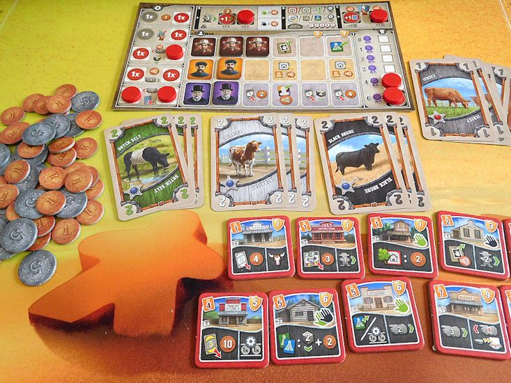 Great Western de chez Gigamic ! Super jeu !