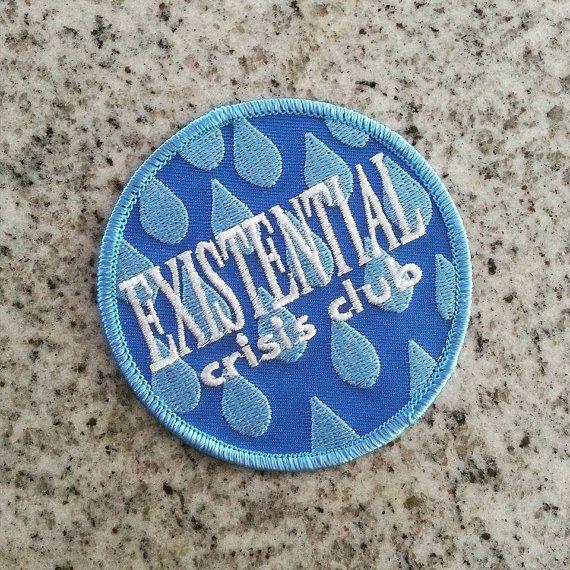 Club de crise existentielle par shopshimsham sur Etsy                                                                                                                                                                                 More