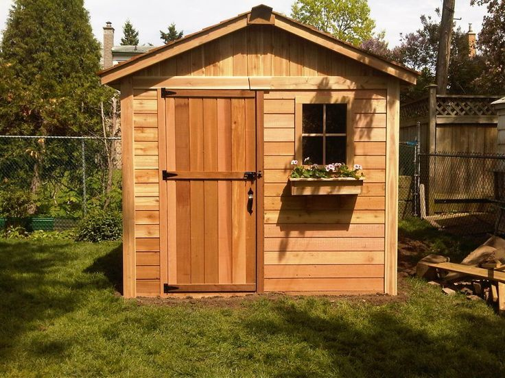 Cute Storage Sheds Home Garden Sheds Gardeners 8x8