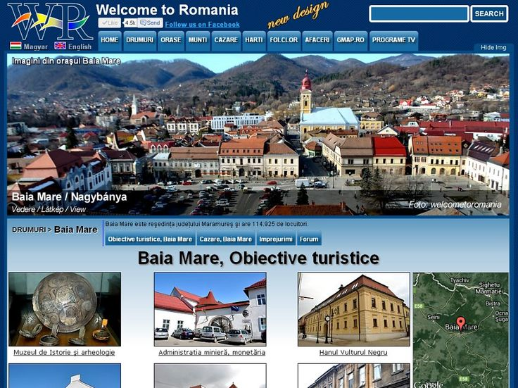 Baia Mare is a city in northern Romania. Browse interactive sightseeing http://www.welcometoromania.ro/Baia_Mare/Baia_Mare_Lista_Obiective_e.htm