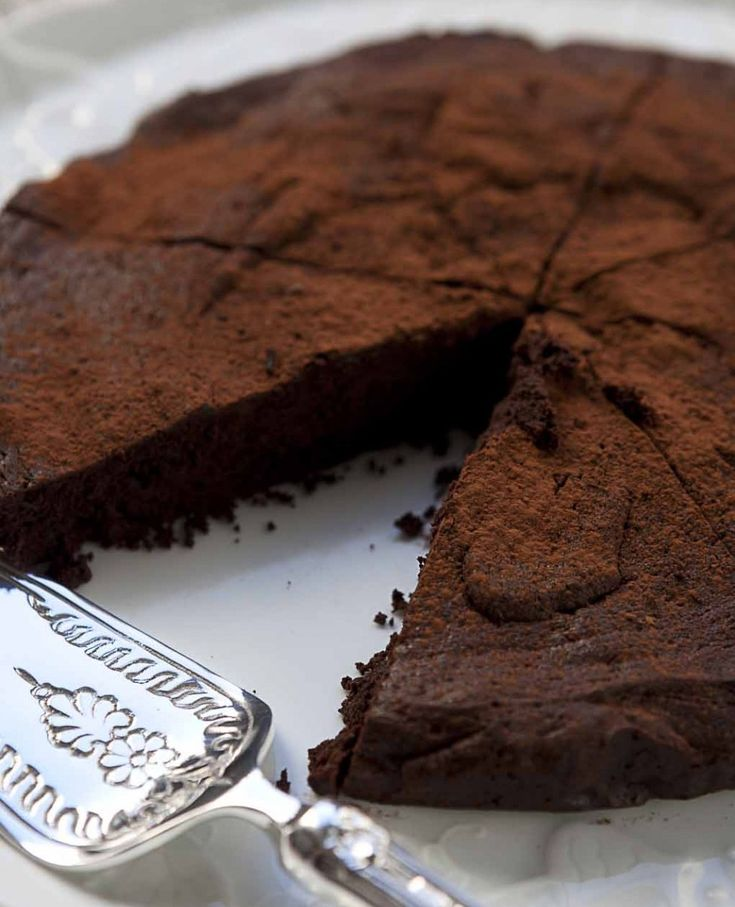 27 gennaio 2017 - Torta al cioccolato senza farina di Csaba dalla Zorza