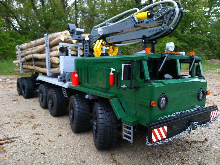 """(Vlastné) MAZ 537 """"Logging Truck"""""""