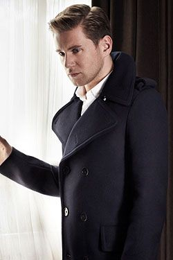 Allen Leech aka Tom Branson  | More Downton Abbey photos here:  http://mylusciouslife.com/historical-style-downton-abbey-photos/