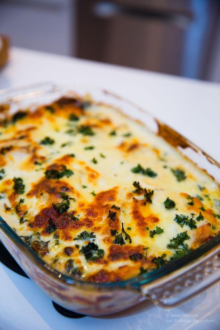 Kyckling Cordon Bleu Lasagne LCHF