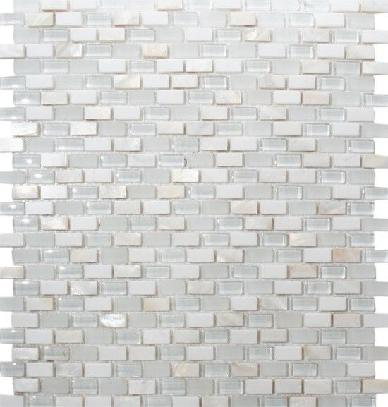 Mosaic Tile For Backsplash And Niche Mother Of Pearl