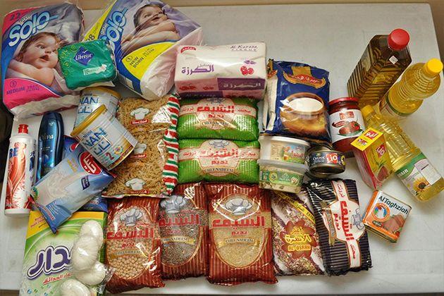 Zoë: Vluchtelingen ontvangen maandelijks meer dan 8.000 voedselpakketten, medische hulp en praktische ondersteuning.