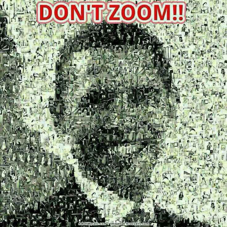 Don't zoom!