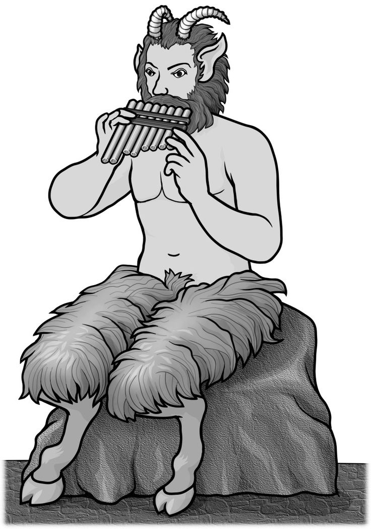 panflute, panpipes / pan:Greek mythology god.