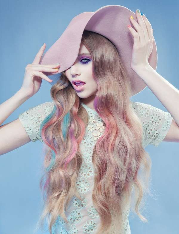 Coy Preppy-Pink Captures - The 'Sweet Pastel' Series is Softly-Hued and Prim (GALLERY)