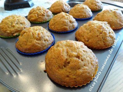 Muffins aux carottes et érable
