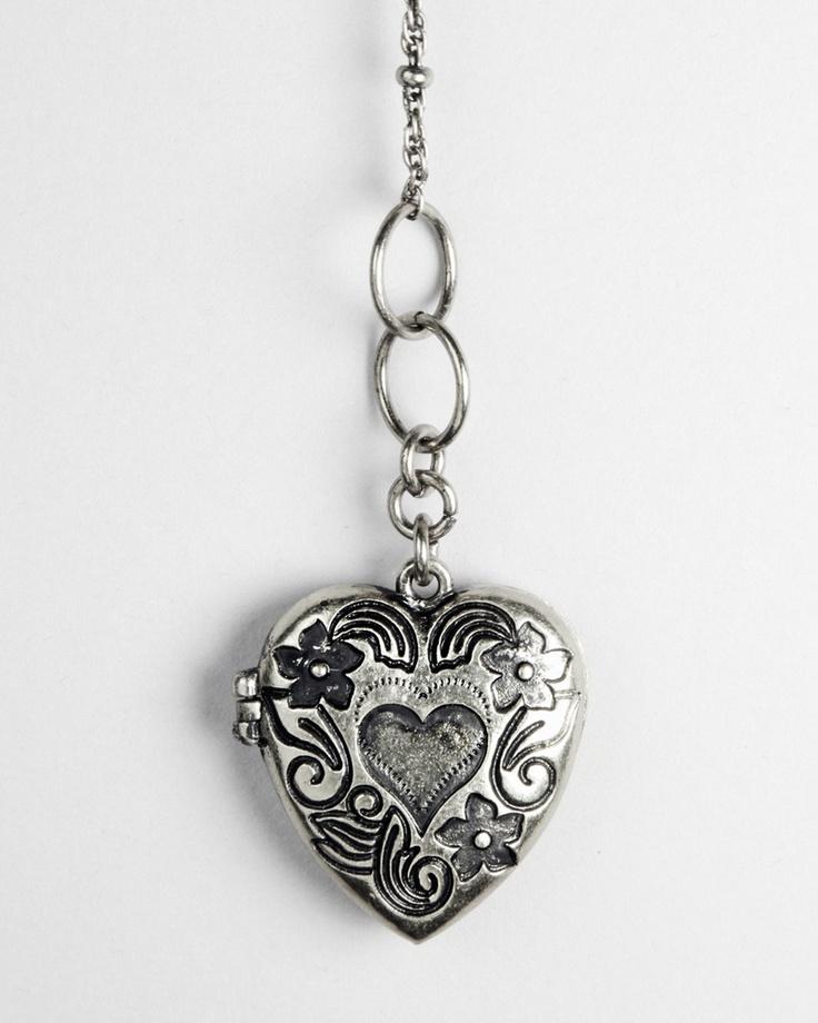 $15.  Lover's Locket Silver - JewelMint