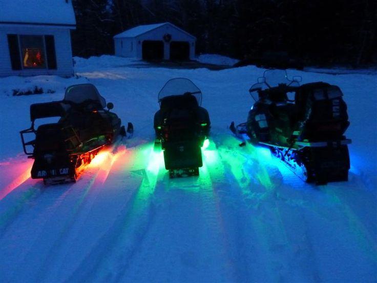 #snowmobiles #underglow #lights