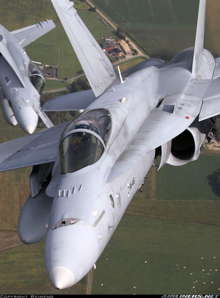 Finnish Air Force McDonnell-Douglas F/A-18C Hornet (Airliners.net)