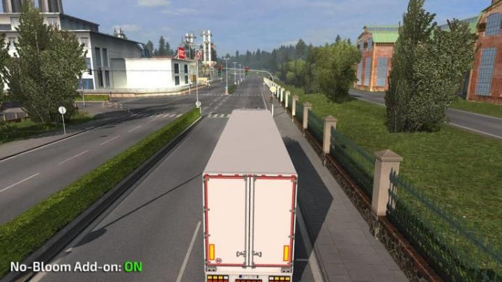ETS2 - No-Bloom Addon V1 0 For Realistic Graphics (1 34 x