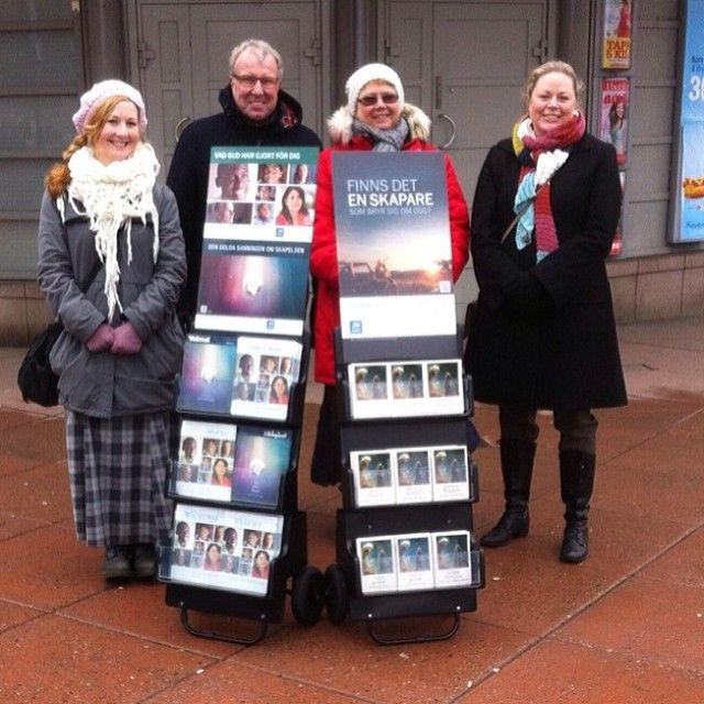Public witnessing in Gothenburg, Sweden. Photo shared by @Natasha S S S S S S S S C Mojica Arango   Webstagram