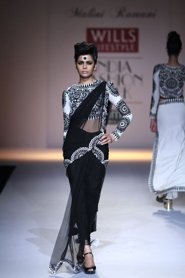 Malini Ramani at Wills Lifestyle India Fashion Week A/W 2014