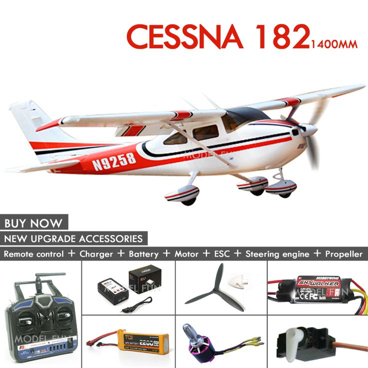 Find More RC Airplanes Information about 2016 New arrival Cessna 182 1400mm/810 mm epo rc plane model rtf/kit quality brushless DIY glider wingspan color free shipping,High Quality arrival design,China shipping sticker Suppliers, Cheap arrival store from Shenzhen Model Fun Co.,Ltd on Aliexpress.com