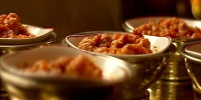 Try this Turkey Meatballs in Tomato Sauce recipe by Chef Nigella Lawson. This recipe is from the show Nigella Kitchen.