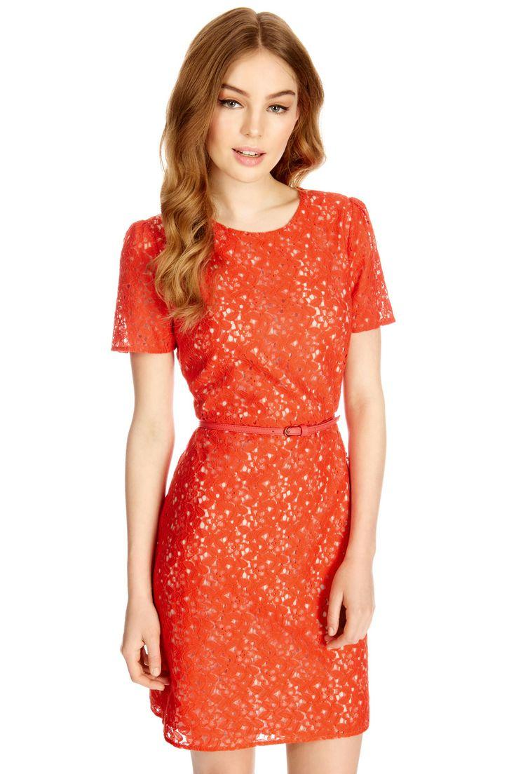 Alle Kleider abitur kleider : Die besten 25+ Orange spitzenkleider Ideen auf Pinterest | Orange ...