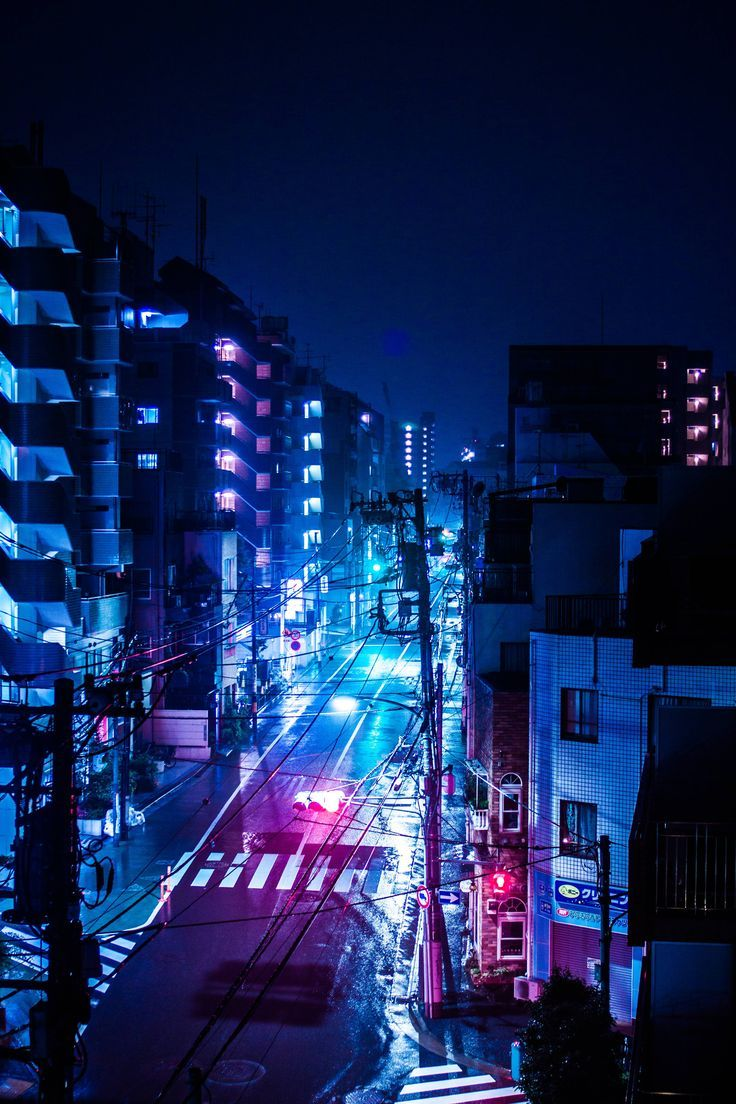 A Rainy Night In Tokyo Japan Japan Night Rainy Tokyo Wallpapers 4k Free Iphone Mobile Games City Wallpaper City Aesthetic Anime City