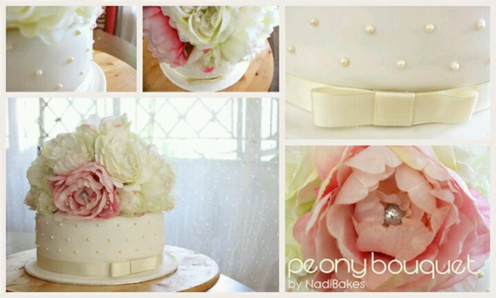 Peonies and pearls